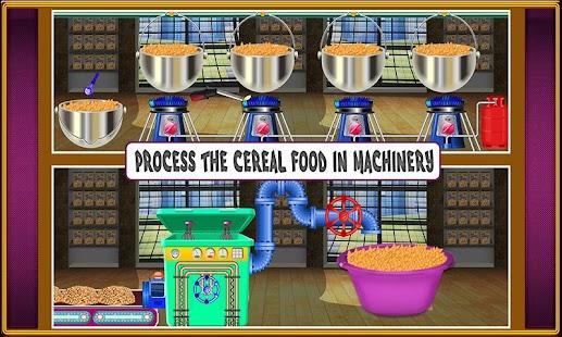 Tải Game Nhà máy thức ăn cho trẻ em ngũ cốc