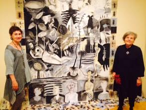 Photo: Artists Valetta and Nancy Sarangoulis