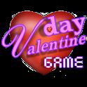 Valentine's day love game icon
