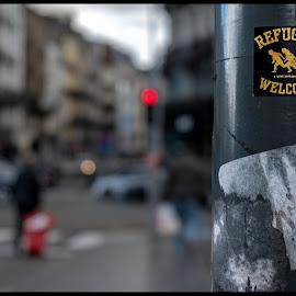 Brussels Molenbeek by Fernand De Canne - People Street & Candids ( people )