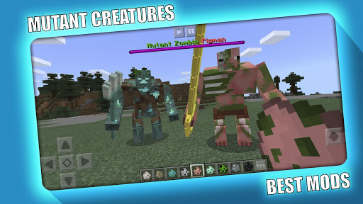MUTANT CREATURES MOD MCPE screenshots 3