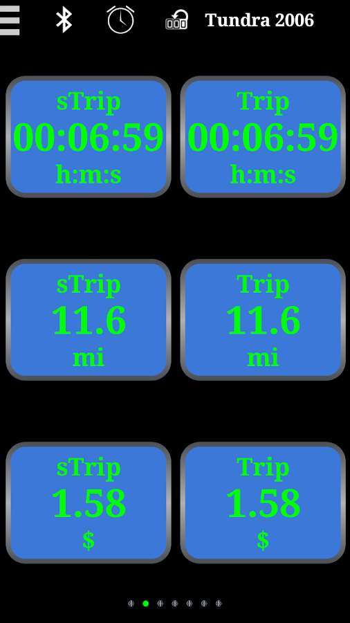 UltraGauge (OBD 2)- screenshot