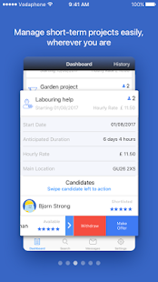 GRAFTER - Find local labour- screenshot thumbnail
