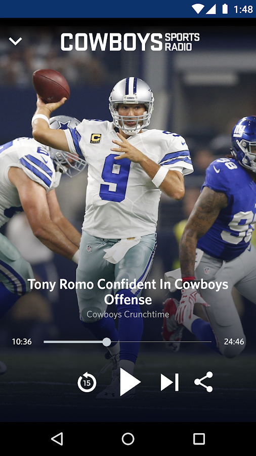 Cowboys Sports Radio- screenshot