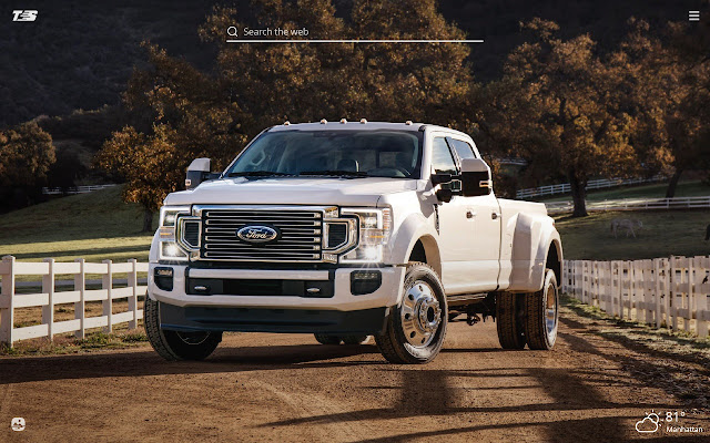 Ford F-350 Pickup HD Wallpapers New Tab Theme