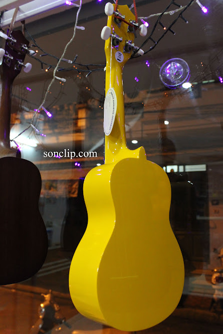 Đàn Ukulele - Playtech Yellow