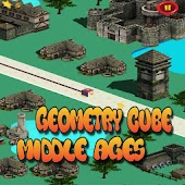 Geometry cube: Middle ages