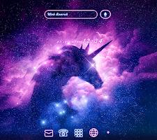Night Wallpaper Unicorn Sparkle Theme
