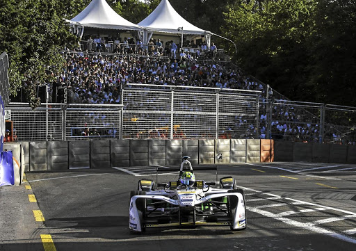 Lucas di Grassi took victory in the Formula E race in Zurich. Picture: NEWSPRESS UK