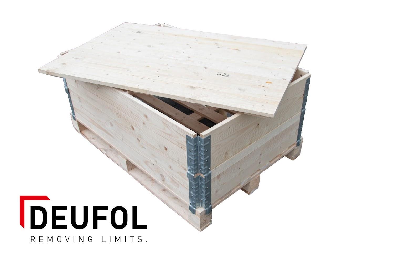 Houten opzetrand voor europallet  - 120*80*20cm