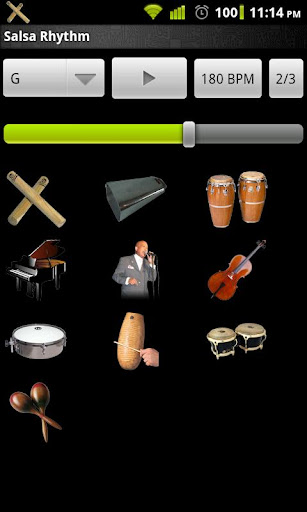 Salsa Rhythm screenshot