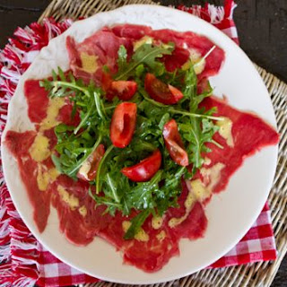 Easy Beef Carpaccio Recipe