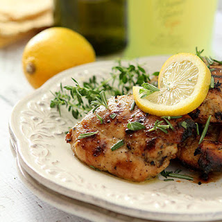 Limoncello Chicken Thighs