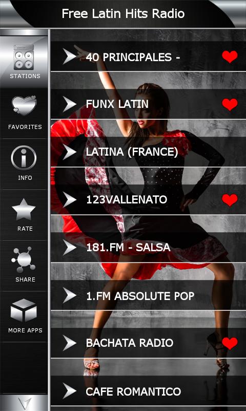 Free Latin Internet Radio 54