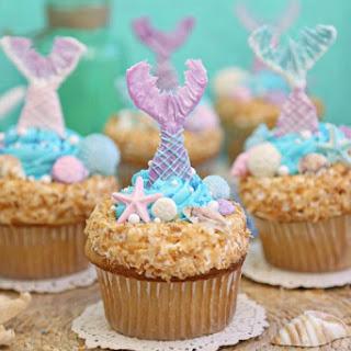 Mermaid Cupcakes.