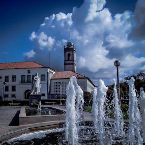 Santarém by Zulmira Relvas - City,  Street & Park  Historic Districts (  )