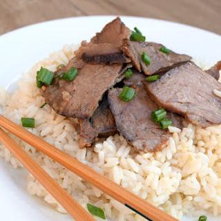 Slow Cooker Asian Beef Roast.