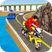 Traffic Bike Racer Fun 3D 🏍️