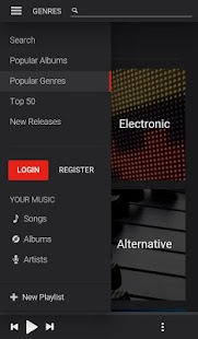 Listen Video - Music Player- screenshot thumbnail