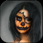 Scary Halloween Makeup Photo Editor