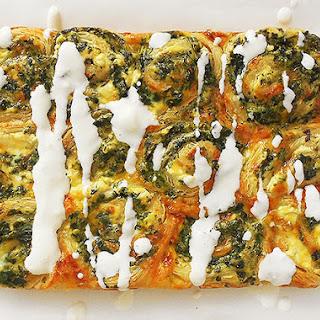 Spinach Ricotta Rolls.
