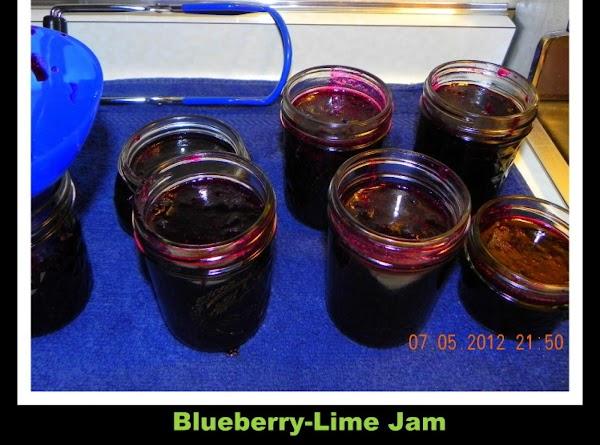 Blueberry Lime Jam Recipe