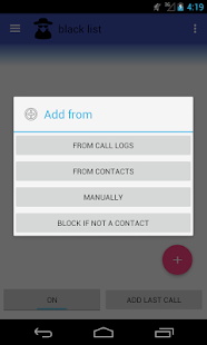 Complete Call Blocker - náhled
