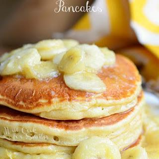 Bananas Foster Pancakes.