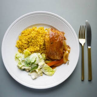 Jamaican Brown Stew Fish.