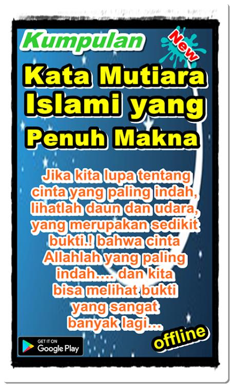 Kumpulan Kata Mutiara Islami Penuh Makna Android Apps