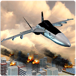 Jet Fighter City Attack Icon