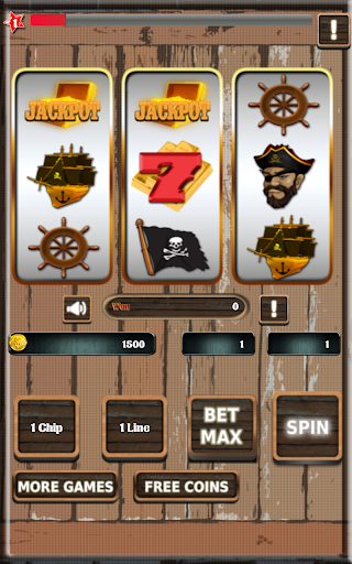 Slots 777 Pirates Treasure
