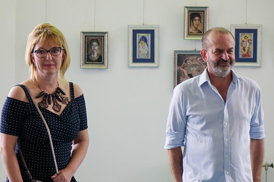 Andrásiné Pocsalyi Julianna és Verebes György