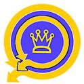 golden-blue status saver for WhatsApp 2021 icon