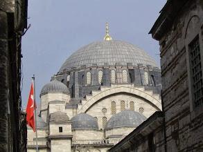 Photo: Nagy Szulejmán Mecset kupola, Nagy Szulejmán, Isztambul, Oszmán, Mecset