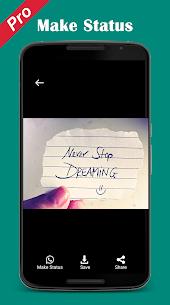 Pro Status download Video Image status downloader APK 5