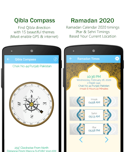 Muslim Prayer Pro with Azan, Quran & Qibla Compass screenshot 12