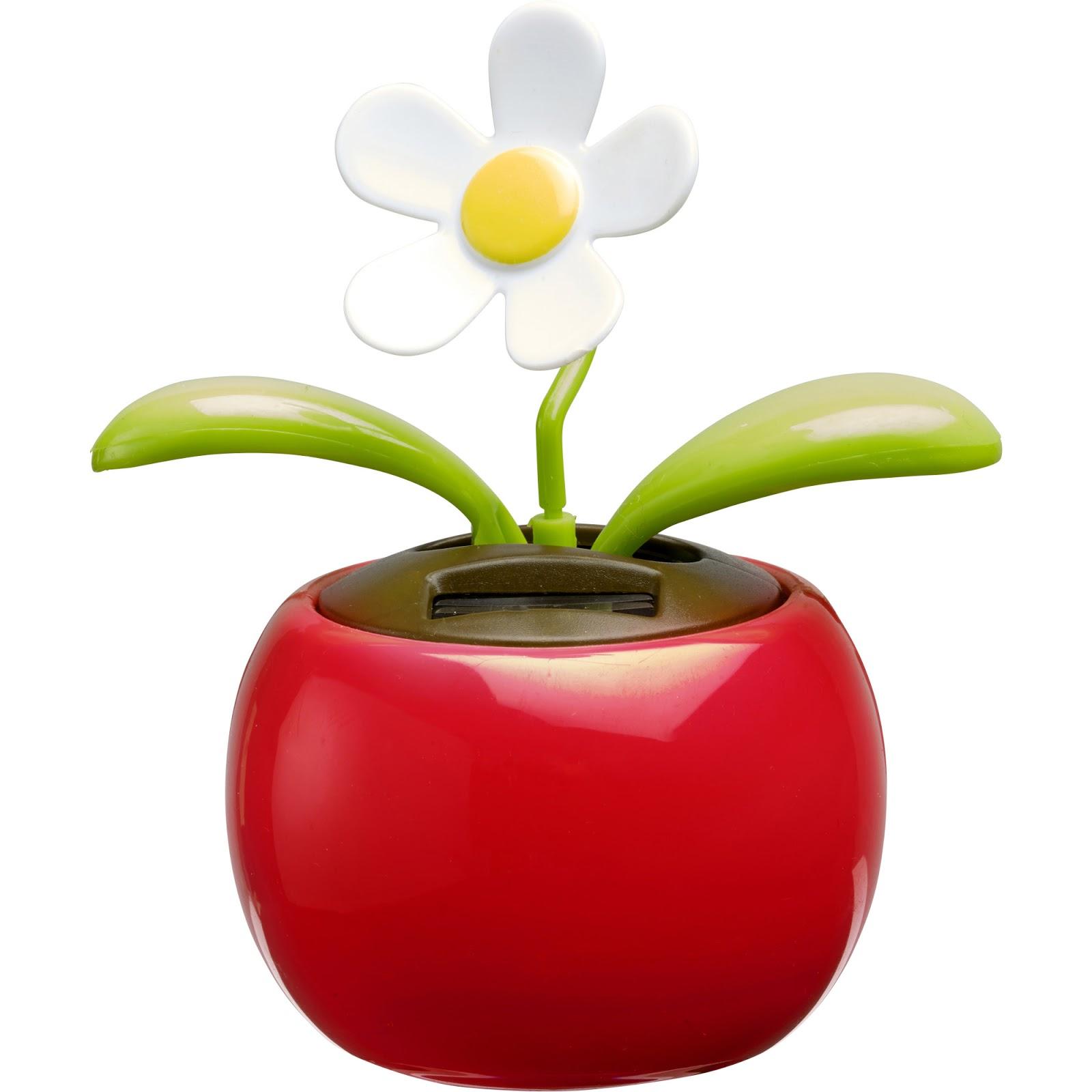 Solar Flower in Pot