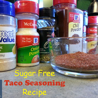 MY Super Tasty Sugar Free Taco Seasoning