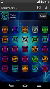 Next Launcher Theme ENERGYSHOW- screenshot thumbnail