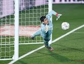 Thibaut Courtois kwam goed weg in de wedstrijd tussen Real Madrid en Eibar
