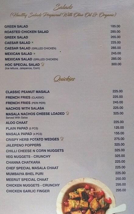House Of Cheers menu 7