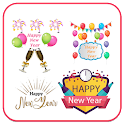 Happy New Year 2020 Sticker - WAStickerApps icon
