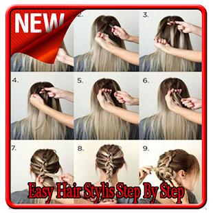 Easy Hair Stylis Step By Step - náhled