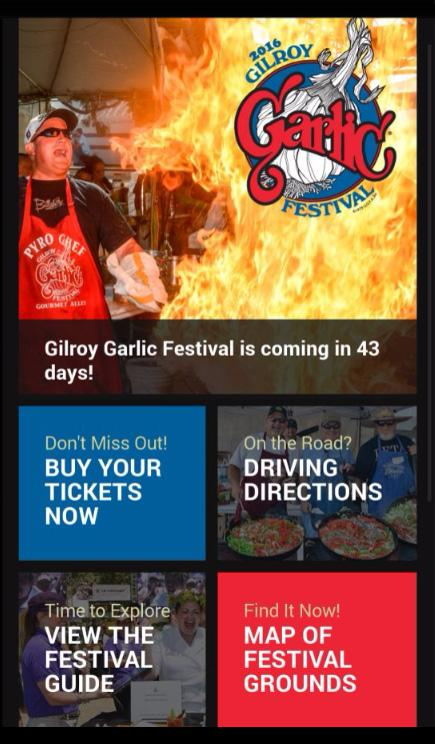 Gilroy Garlic Festival 2016- screenshot