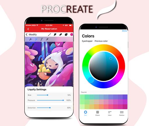 Procreate Art  screenshots 1
