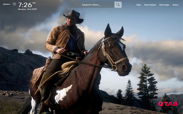 Red Dead Redemption 2 Wallpapers HD Theme