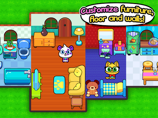 Forest Folks - Cute Pet Home Design Game 1.0.4 screenshots 12