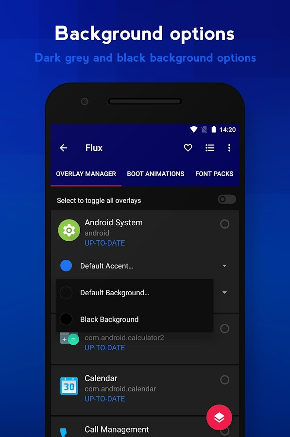 Flux - Substratum Theme- screenshot