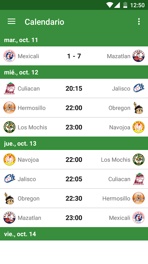 Beisbol Mexico- screenshot